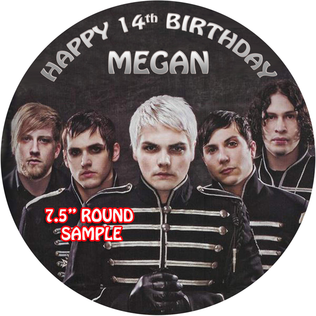 My Chemical Romance Cake Topper