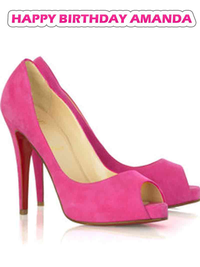 Pink Ladies Heels - Is Heel