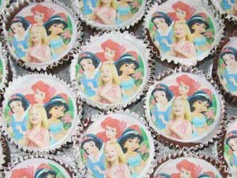 "photos 1 per sheet on 2.13"" Cupcake / Fairy Cake Cake toppers"