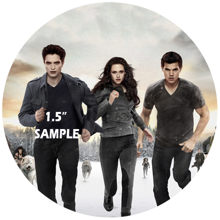 TWILIGHT 12 x Cup Cake Toppers 2.13""