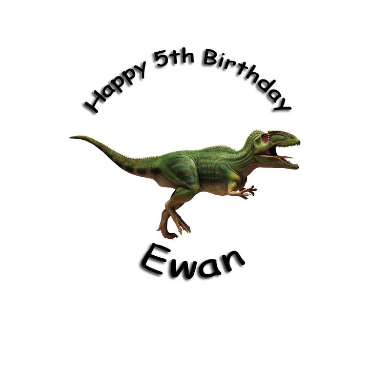 cakes designs for adults. Dinosaur design 7.5quot; Round